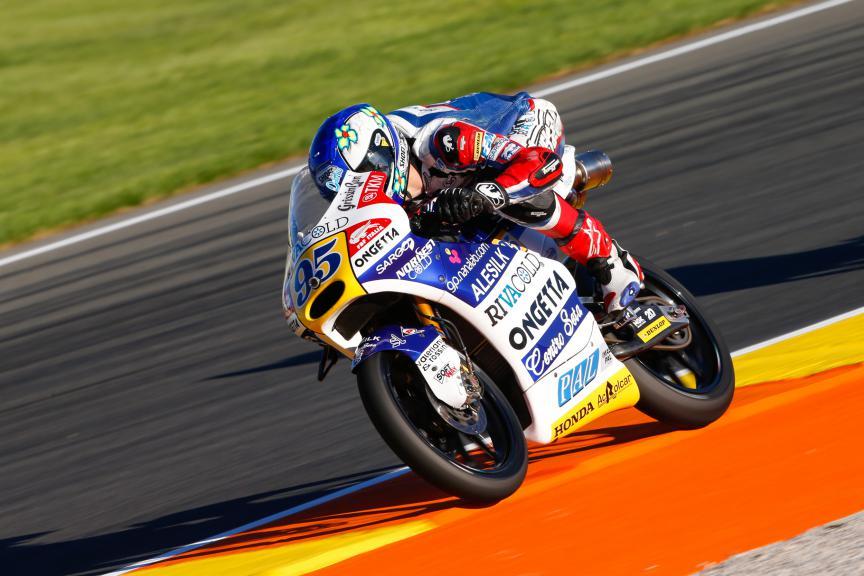 Jules Danilo, Ongetta-Rivacold, Valencia GP QP