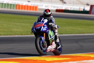 Lorenzo, pole position de MotoGP™ en Valencia