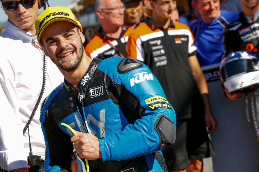 Romano Fenati, SKY Racing Team VR46, Valencia GP QP