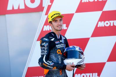 McPhee: 'Bello essere il più veloce'