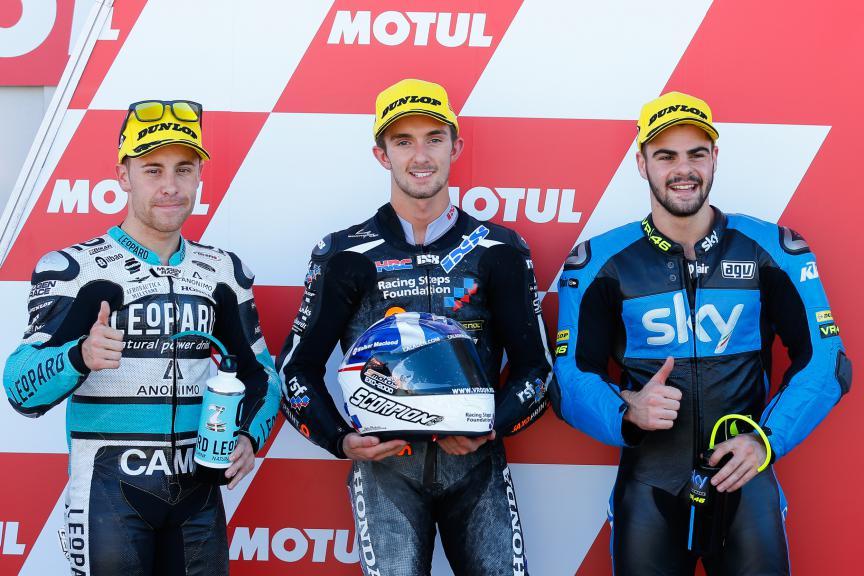 Vazquez, McPhee, Fenati, Leopard Racing, Saxoprint RTG, Sky Racing Team VR46, Valencia GP QP