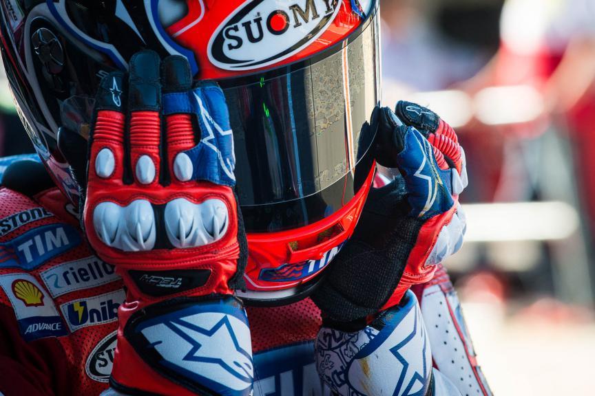 Andrea Dovizioso, Ducati Team, Valencia GP © 2015 Scott Jones, PHOTO.GP