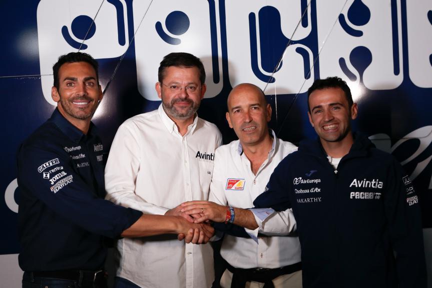 Avintia Racing in Valencia