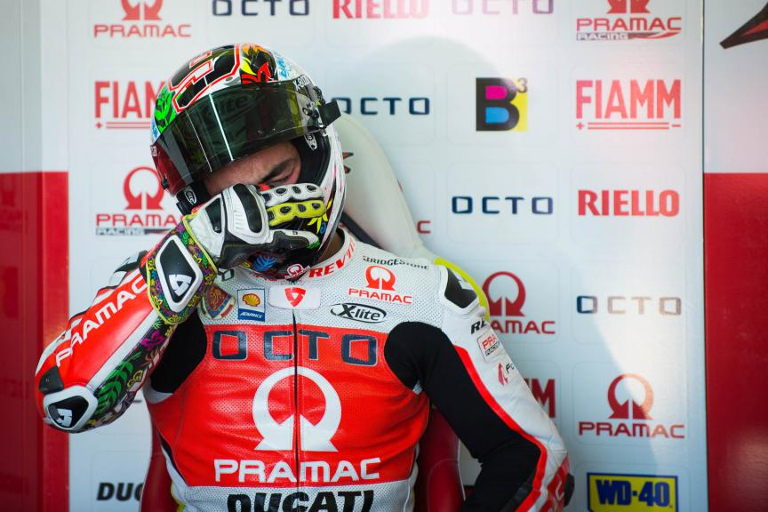 Danilo Petrucci, Octo Pramac Racing, Valencia GP © 2015 Scott Jones, PHOTO.GP