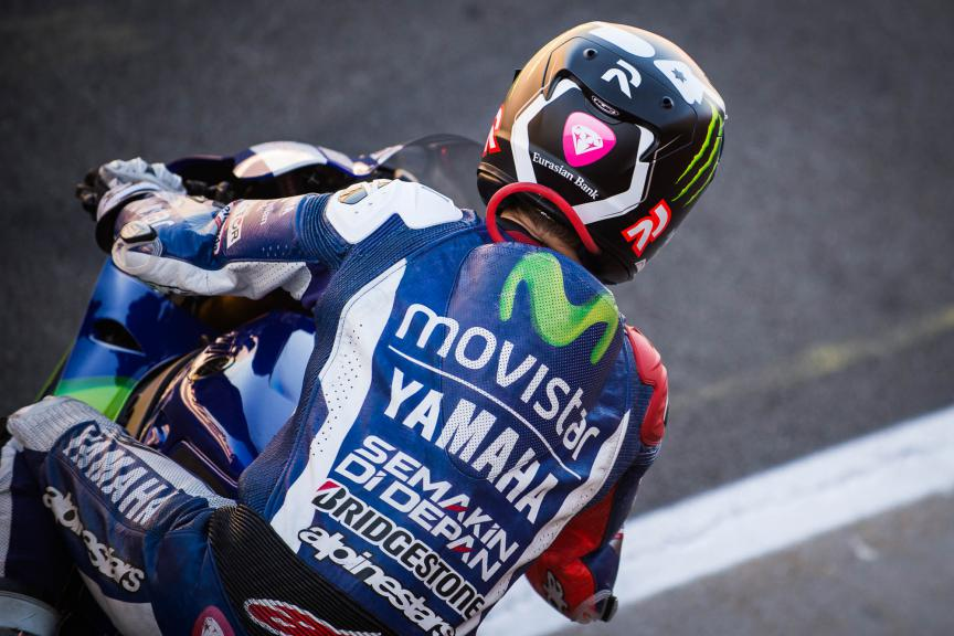 Jorge Lorenzo, Movistar Yamaha MotoGP, Valencia GP Q2 © 2015 Scott Jones, PHOTO.GP