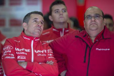 Q&A with Jorge Martínez 'Aspar' and CEO of Mahindra Racing