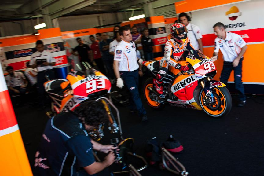 Marc Marquez, Repsol Honda Team, Valencia GP © 2015 Scott Jones, PHOTO.GP