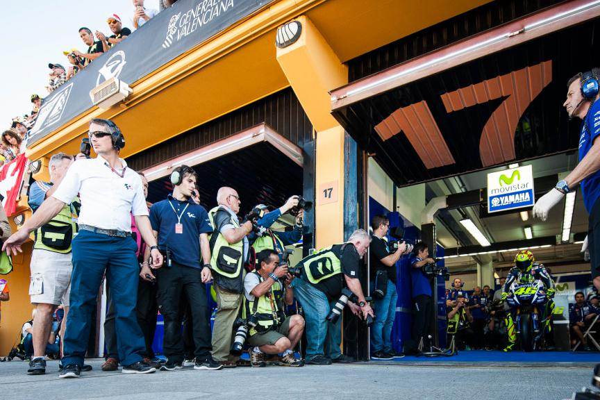 Valentino Rossi, Movistar Yamaha MotoGP, Valencia GP © 2015 Scott Jones, PHOTO.GP