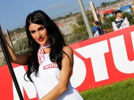 Paddock Girl Valencia GP