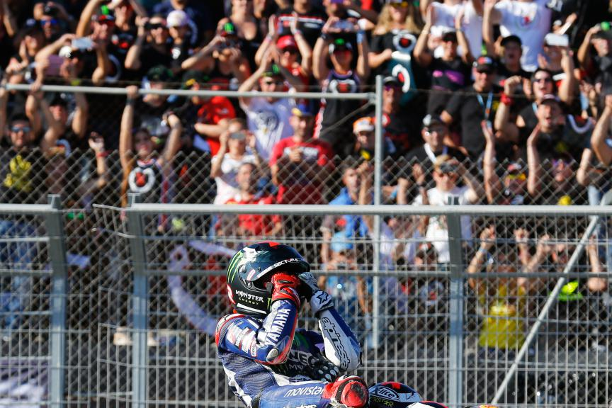 2015 MotoGP World Champion Jorge Lorenzo