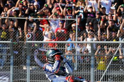 Lorenzo: «Soy cinco veces campeón del mundo»