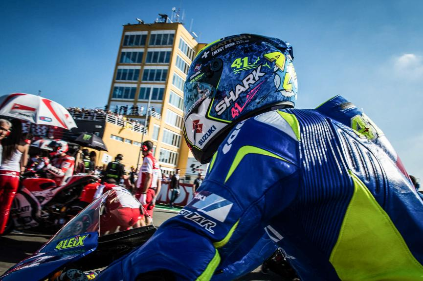 Aleix Espargaro, Team Suzuki Ecstar, Valencia GP © 2015 Scott Jones, PHOTO.GP
