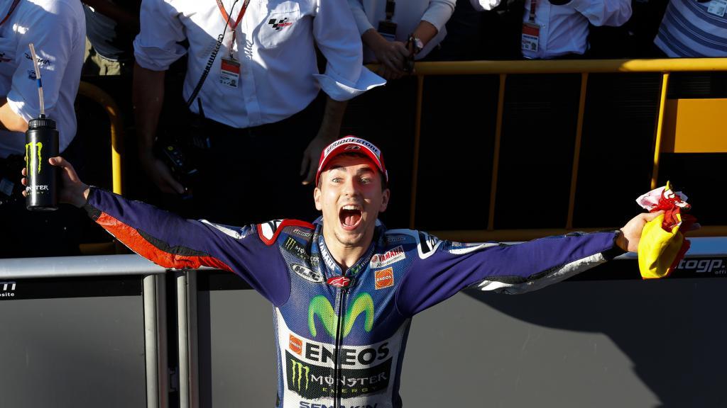 2015 MotoGP World Champion Jorge Lorenzo