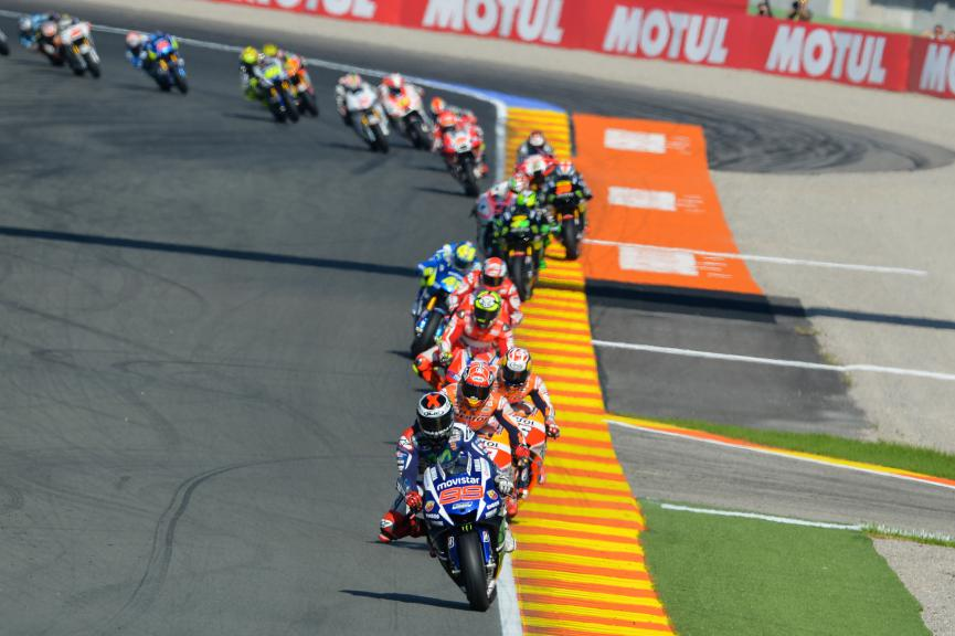 MotoGP Action, Valencia Race