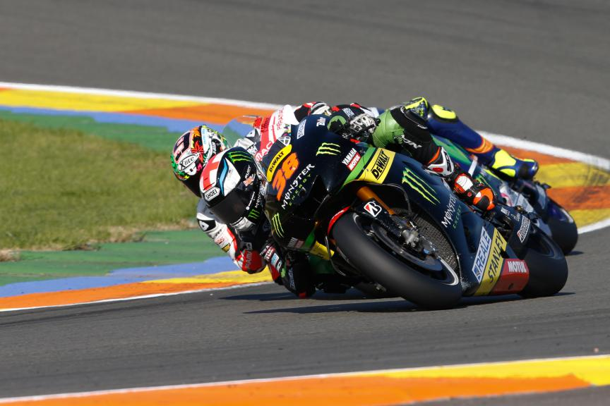 Bradley Smith, Monster Yamaha Tech 3, Valencia GP Race