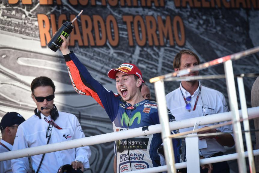 Jorge Lorenzo, Mocistar Yamaha MotoGP, Valencia GP Race
