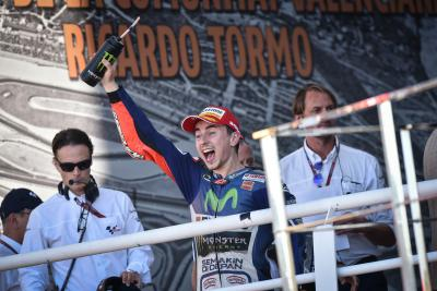 "Lorenzo: ""Now we can say we are five-time world champions"""