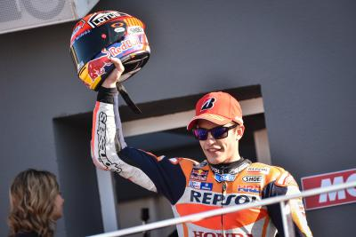 "Marquez: ""With four laps to go I tried to pass"""