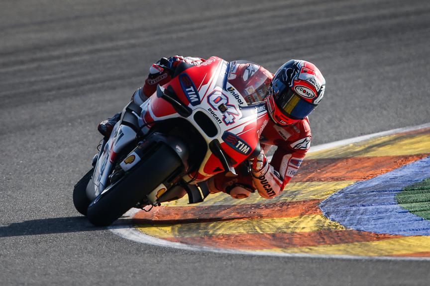 Andrea Dovizioso, Ducati Team, Valencia GP Race
