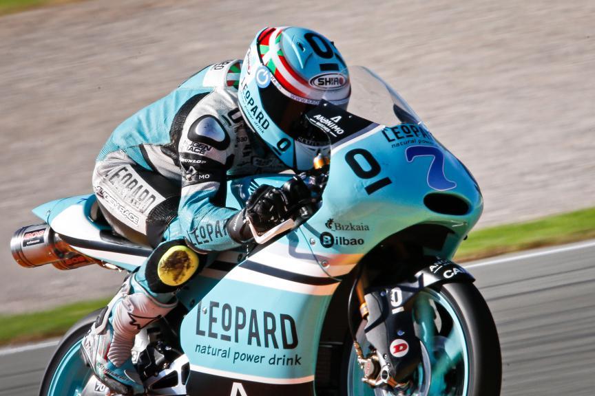 Efren Vazquez, Leopard Racing, Valencia GP Race