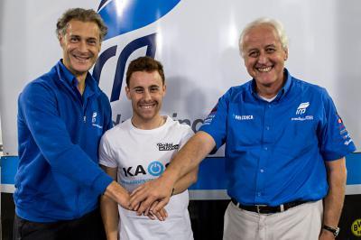 Efren Vazquez steigt mit Iodaracing in die Moto2 auf
