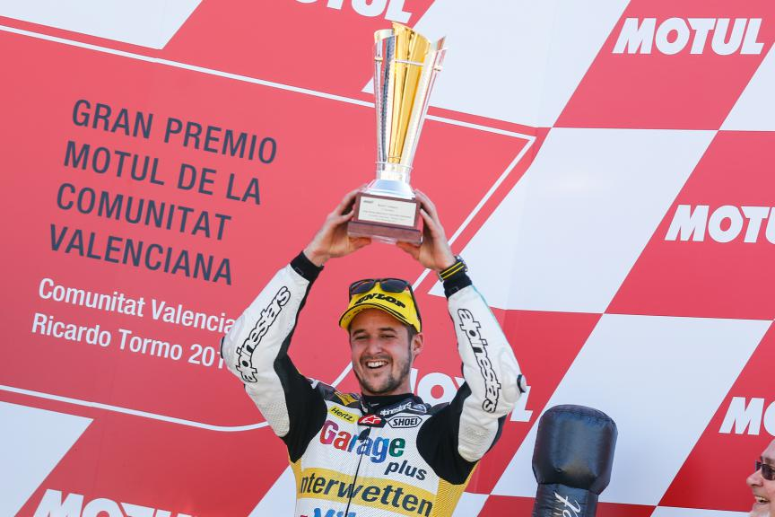 Thomas Luthi, Derendinger Racing Interwetten, Valencia GP Race