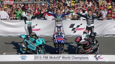 Meet your 3 World Champions for 2015!