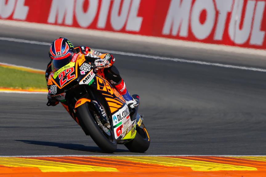 Sam Lowes, Speed Up Racing, Valencia GP Race