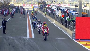 #ValenciaGP : Warm Up MotoGP™
