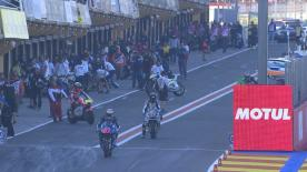 The full Warm Up session for the Moto2™ World Championship at the Valencia GP.