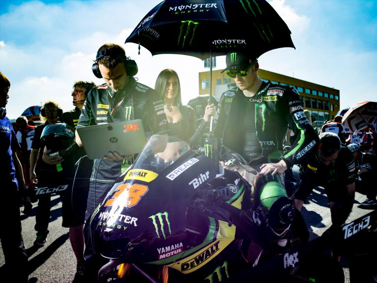 Bradley Smith, Monster Yamaha Tech 3, Valencia GP Race © Alexandre Chailan & David Piolé