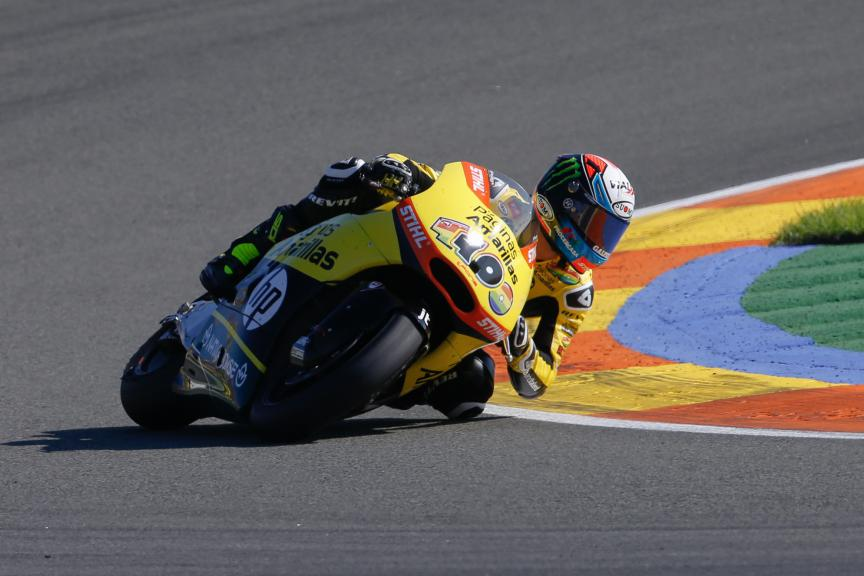 Alex Rins, Paginas Amarillas HP 40, Valencia GP Race