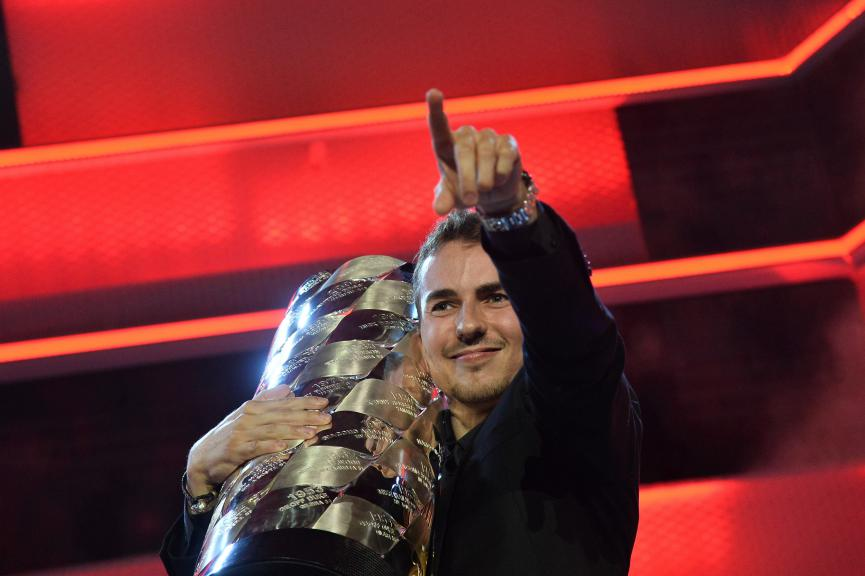 2015 MotoGP World Champion Jorge Lorenzo, FIM Awards