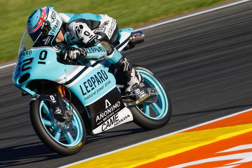 Danny Kent, Leopard Racing, Valencia GP Race