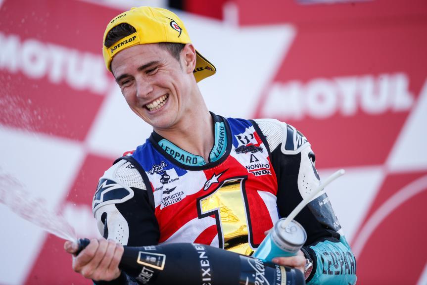 2015 Moto3 World Champion Danny Kent