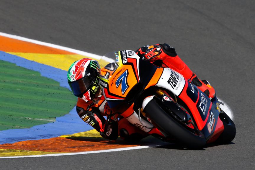 Lorenzo Baldassarri, Forward Racing, Valencia GP Race