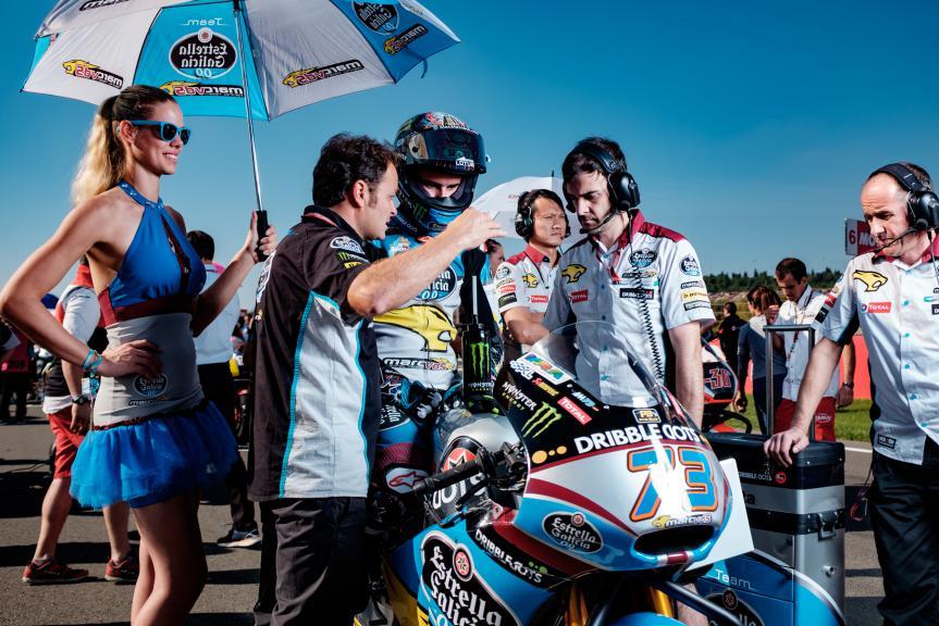 Alexz Marquez, EG 0,0 Marc VDS, Valencia GP Race © Alexandre Chailan & David Piolé