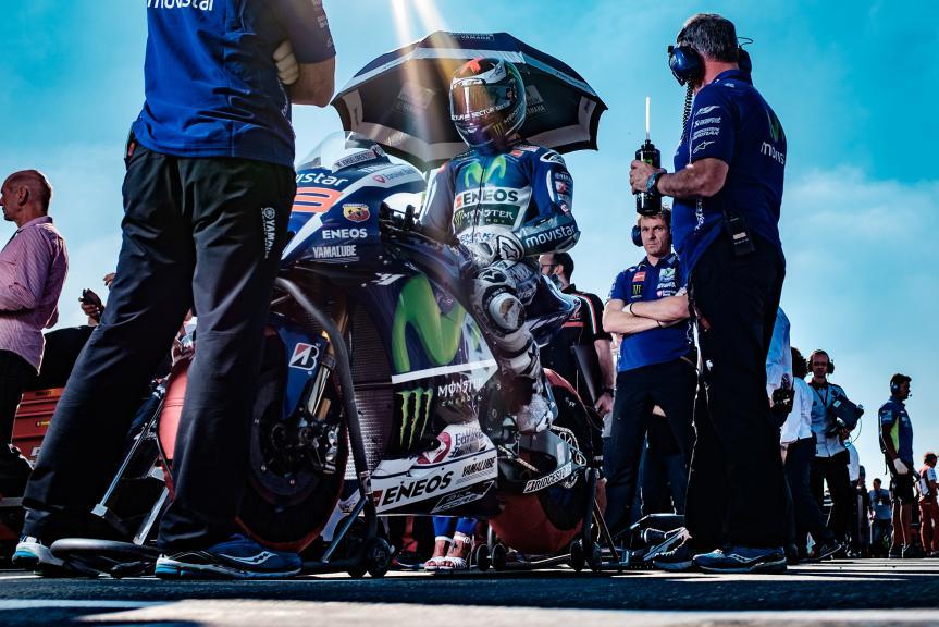 Jorge Lorenzo, Movistar Yamaha MotoGP, Valencia GP Race © Alexandre Chailan & David Piolé
