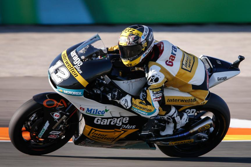 Thomas Luthi, Derendinger Racing Interwetten, Valencia GP WUP