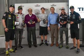 Tissot, cronometrador oficial de MotoGP™ hasta 2022.