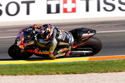 "Bradl: ""I didn't feel comfortable braking"""