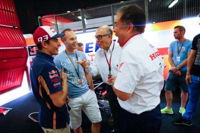 Nakamoto über Valencia, die Saison und Rossi