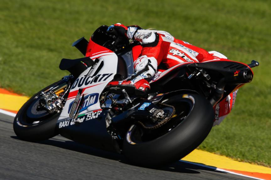 Andrea Dovizioso, Ducati Team, Valencia MotoGP Official Test