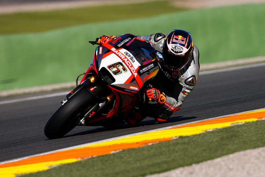Stefan Bradl, Aprilia Racing Team Gresini, Valencia MotoGP Official Test