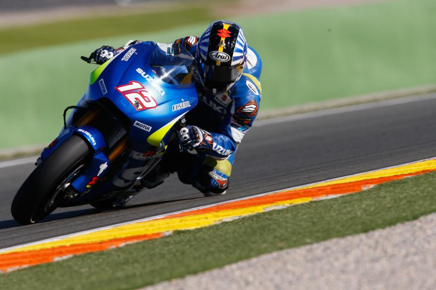 Nobuatsu Aoki, Suzuki Test Team, Valencia MotoGP Official Test