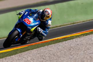 Maverick Viñales, Team Ecstar Suzuki, Valencia MotoGP Official Test