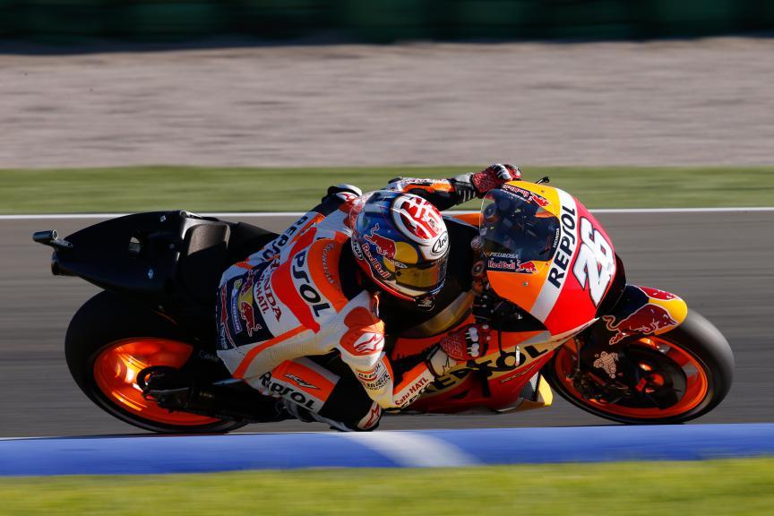 Dani Pedrosa, Repsol Honda Team, Valencia MotoGP Official Test