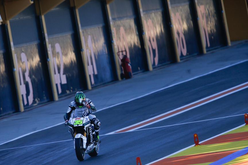 Cal Crutchlow, LCR Honda, Valencia MotoGP Official Test