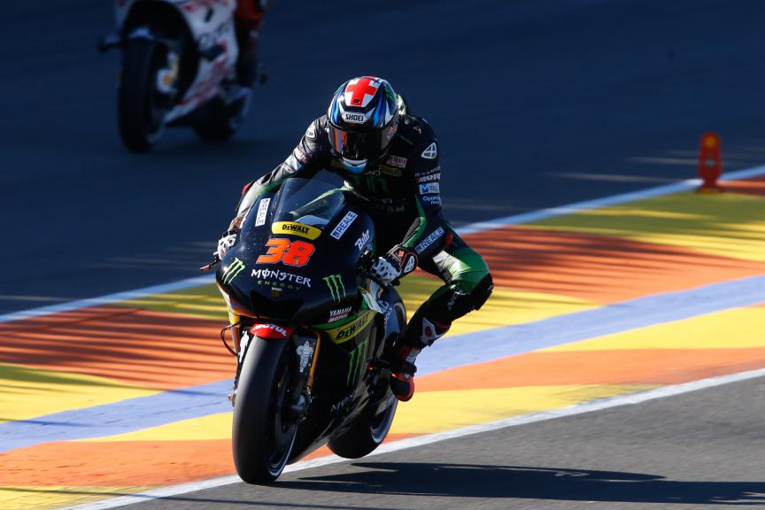 Bradley Smith, Monster Yamaha Tech 3, Valencia MotoGP Official Test