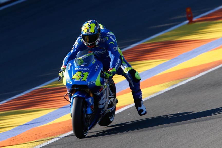 Aleix Espargaro, Team Suzuki Ecstar, Valencia MotoGP Official Test